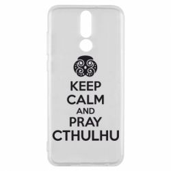 Чехол для Huawei Mate 10 Lite KEEP CALM AND PRAY CTHULHU - FatLine