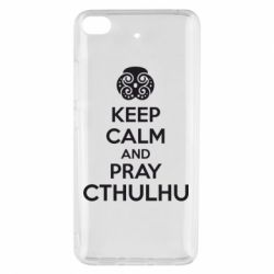 Чехол для Xiaomi Mi 5s KEEP CALM AND PRAY CTHULHU - FatLine