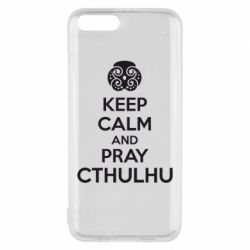 Чехол для Xiaomi Mi6 KEEP CALM AND PRAY CTHULHU - FatLine