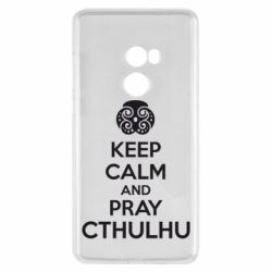 Чехол для Xiaomi Mi Mix 2 KEEP CALM AND PRAY CTHULHU - FatLine