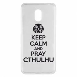 Чехол для Meizu M6 KEEP CALM AND PRAY CTHULHU - FatLine