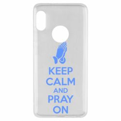 Чехол для Xiaomi Redmi Note 5 KEEP CALM AND PRAY ON