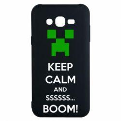 Чохол для Samsung J7 2015 Keep calm and ssssssss...BOOM!