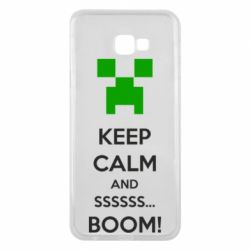 Чохол для Samsung J4 Plus 2018 Keep calm and ssssssss...BOOM!