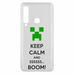 Чехол для Samsung A9 2018 Keep calm and ssssssss...BOOM!