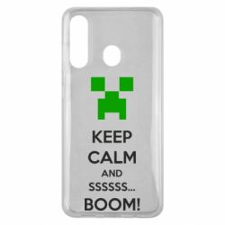 Чехол для Samsung M40 Keep calm and ssssssss...BOOM!