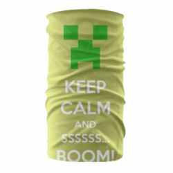 Бандана-труба Keep calm and ssssssss...BOOM!