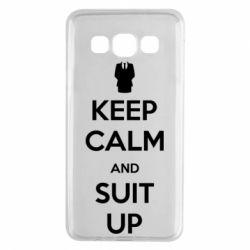 Чехол для Samsung A3 2015 Keep Calm and suit up!