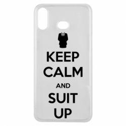 Чехол для Samsung A6s Keep Calm and suit up!
