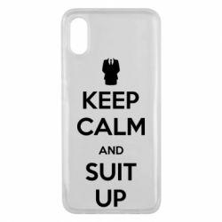 Чехол для Xiaomi Mi8 Pro Keep Calm and suit up!