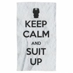 Полотенце Keep Calm and suit up!