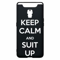 Чехол для Samsung A80 Keep Calm and suit up!