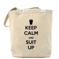 Сумка Keep Calm and suit up!