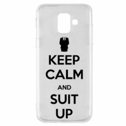 Чехол для Samsung A6 2018 Keep Calm and suit up!