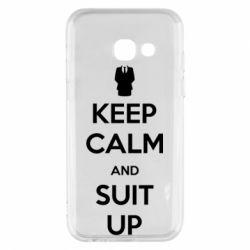 Чехол для Samsung A3 2017 Keep Calm and suit up!