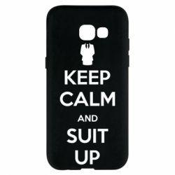 Чехол для Samsung A5 2017 Keep Calm and suit up!