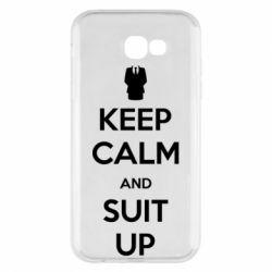 Чехол для Samsung A7 2017 Keep Calm and suit up!