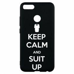 Чехол для Xiaomi Mi A1 Keep Calm and suit up!