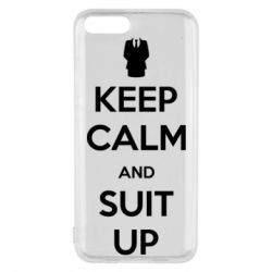 Чехол для Xiaomi Mi6 Keep Calm and suit up!