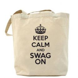Сумка KEEP CALM and SWAG ON - FatLine