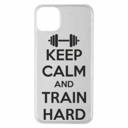 Чехол для iPhone 11 Pro Max KEEP CALM and TRAIN HARD