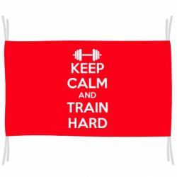 Флаг KEEP CALM and TRAIN HARD
