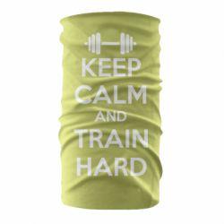 Бандана-труба KEEP CALM and TRAIN HARD