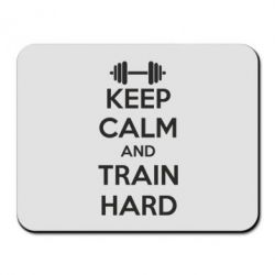 Коврик для мыши KEEP CALM and TRAIN HARD - FatLine