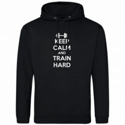Толстовка KEEP CALM and TRAIN HARD - FatLine