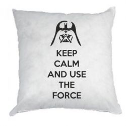 Подушка Keep Calm and use the Force - FatLine