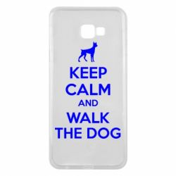 Чохол для Samsung J4 Plus 2018 KEEP CALM and WALK THE DOG