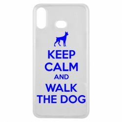 Чохол для Samsung A6s KEEP CALM and WALK THE DOG