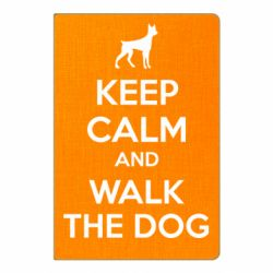 Блокнот А5 KEEP CALM and WALK THE DOG
