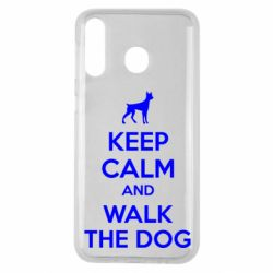 Чохол для Samsung M30 KEEP CALM and WALK THE DOG