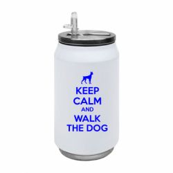 Термобанка 350ml KEEP CALM and WALK THE DOG