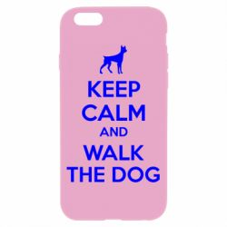 Чохол для iPhone 6/6S KEEP CALM and WALK THE DOG