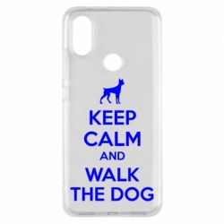Чохол для Xiaomi Mi A2 KEEP CALM and WALK THE DOG