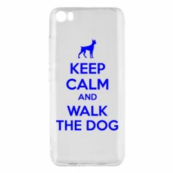 Чохол для Xiaomi Mi5/Mi5 Pro KEEP CALM and WALK THE DOG