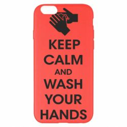 Чохол для iPhone 6 Plus/6S Plus Keep calm and wash your hands