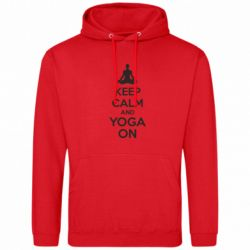 Толстовка KEEP CALM and YOGA ON