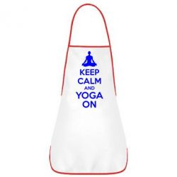 Фартук KEEP CALM and YOGA ON