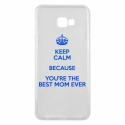 Чехол для Samsung J4 Plus 2018 KEEP CALM because you're the best mom ever