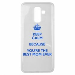Чехол для Samsung J8 2018 KEEP CALM because you're the best mom ever - FatLine