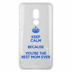Чехол для Meizu V8 KEEP CALM because you're the best mom ever - FatLine