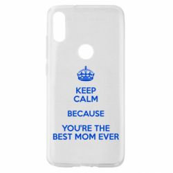 Чехол для Xiaomi Mi Play KEEP CALM because you're the best mom ever