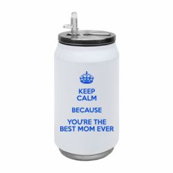 Термобанка 350ml KEEP CALM because you're the best mom ever