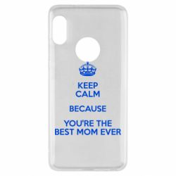 Чехол для Xiaomi Redmi Note 5 KEEP CALM because you're the best mom ever - FatLine