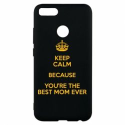 Чехол для Xiaomi Mi A1 KEEP CALM because you're the best mom ever