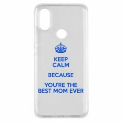 Чехол для Xiaomi Mi A2 KEEP CALM because you're the best mom ever