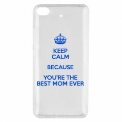 Чехол для Xiaomi Mi 5s KEEP CALM because you're the best mom ever - FatLine